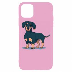 Чехол для iPhone 11 Pro Max Cute dachshund