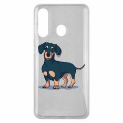 Чохол для Samsung M40 Cute dachshund