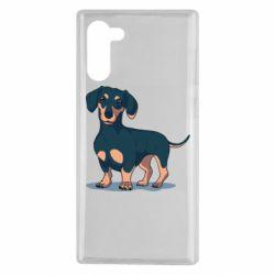 Чехол для Samsung Note 10 Cute dachshund