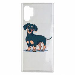 Чехол для Samsung Note 10 Plus Cute dachshund