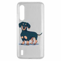 Чехол для Xiaomi Mi9 Lite Cute dachshund