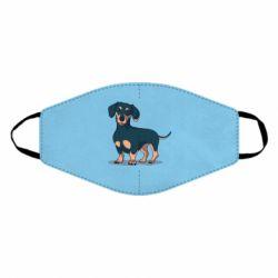 Маска для лица Cute dachshund