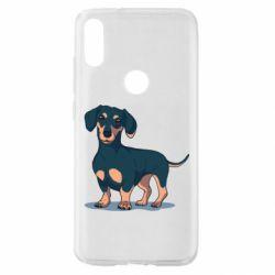 Чехол для Xiaomi Mi Play Cute dachshund