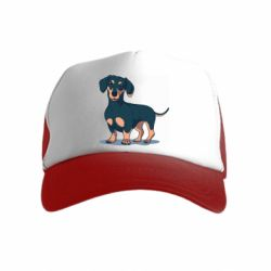 Дитяча кепка-тракер Cute dachshund