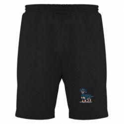Мужские шорты Cute dachshund