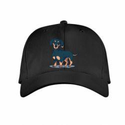 Детская кепка Cute dachshund