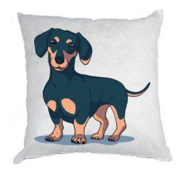 Подушка Cute dachshund