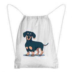 Рюкзак-мешок Cute dachshund
