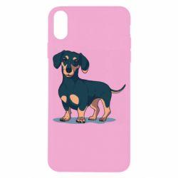 Чохол для iPhone X/Xs Cute dachshund