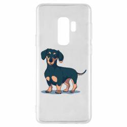 Чохол для Samsung S9+ Cute dachshund