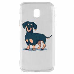 Чохол для Samsung J3 2017 Cute dachshund