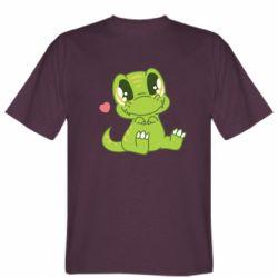 Чоловіча футболка Cute dinosaur