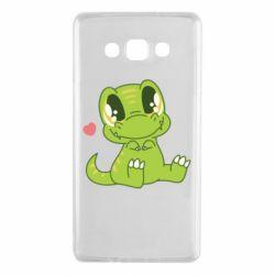 Чохол для Samsung A7 2015 Cute dinosaur