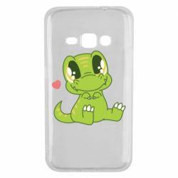 Чохол для Samsung J1 2016 Cute dinosaur