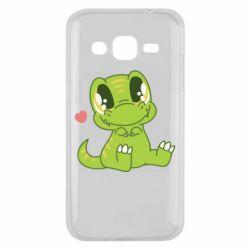 Чохол для Samsung J2 2015 Cute dinosaur