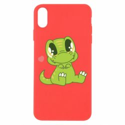 Чехол для iPhone Xs Max Cute dinosaur