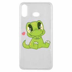 Чохол для Samsung A6s Cute dinosaur