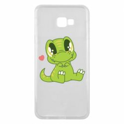 Чехол для Samsung J4 Plus 2018 Cute dinosaur