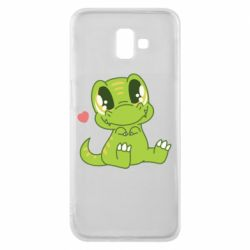 Чехол для Samsung J6 Plus 2018 Cute dinosaur
