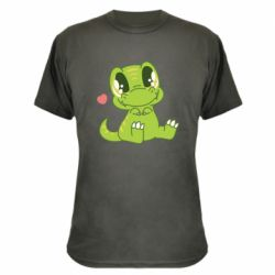 Камуфляжна футболка Cute dinosaur