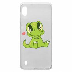 Чохол для Samsung A10 Cute dinosaur