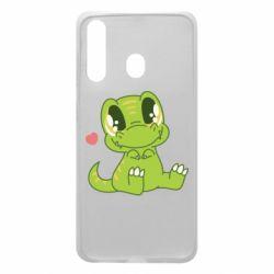 Чохол для Samsung A60 Cute dinosaur