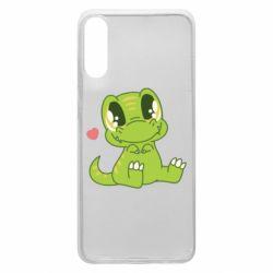 Чохол для Samsung A70 Cute dinosaur