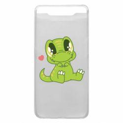 Чохол для Samsung A80 Cute dinosaur