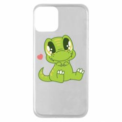 Чехол для iPhone 11 Cute dinosaur