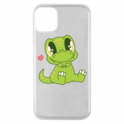 Чехол для iPhone 11 Pro Cute dinosaur