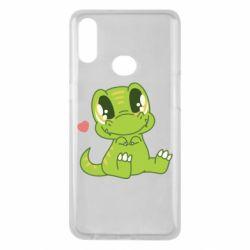 Чохол для Samsung A10s Cute dinosaur