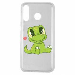 Чохол для Samsung M30 Cute dinosaur