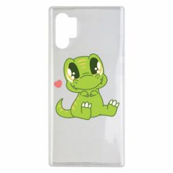 Чехол для Samsung Note 10 Plus Cute dinosaur