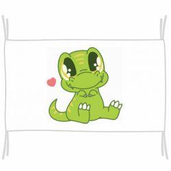 Прапор Cute dinosaur