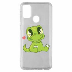 Чохол для Samsung M30s Cute dinosaur