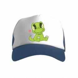 Дитяча кепка-тракер Cute dinosaur