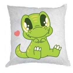 Подушка Cute dinosaur