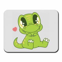 Килимок для миші Cute dinosaur