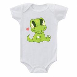 Дитячий бодік Cute dinosaur