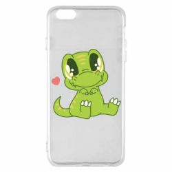 Чехол для iPhone 6 Plus/6S Plus Cute dinosaur