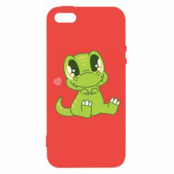 Чехол для iPhone5/5S/SE Cute dinosaur