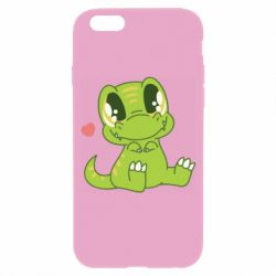 Чехол для iPhone 6/6S Cute dinosaur