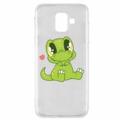 Чохол для Samsung A6 2018 Cute dinosaur