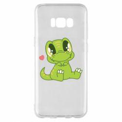 Чохол для Samsung S8+ Cute dinosaur