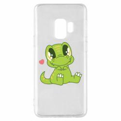 Чохол для Samsung S9 Cute dinosaur