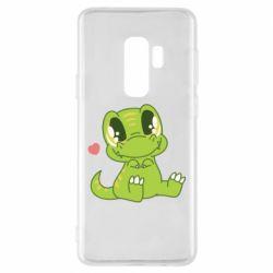 Чохол для Samsung S9+ Cute dinosaur