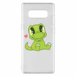 Чехол для Samsung Note 8 Cute dinosaur