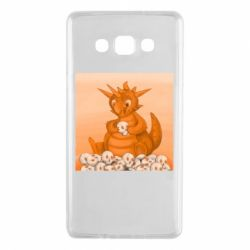 Чохол для Samsung A7 2015 Cute dragon with skulls