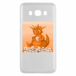 Чохол для Samsung J5 2016 Cute dragon with skulls