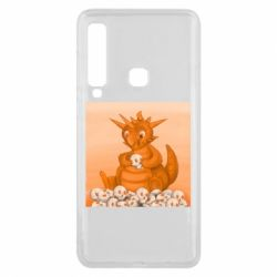 Чохол для Samsung A9 2018 Cute dragon with skulls